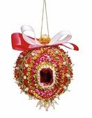 """Новогодний шар из пайеток """"Кардинал Ришелье"""", набор для творчества (Волшебная мастерская)"""