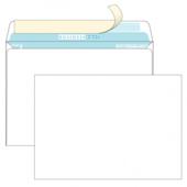 Конверт белый С5 (162*229мм), стрип-лента, клапан прямой (BUSINESSPOST). Конверты - в упаковке 1000 шт.