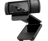 Веб-камера Logitech HD Pro Webcam C920 (960-001055) Black (1920x1080, Mic, USB 2.0)