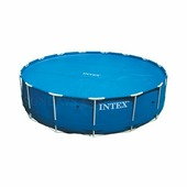 Тент-чехол с обогревающим эффектом для бассейнов Intex 29025/59955 549 см