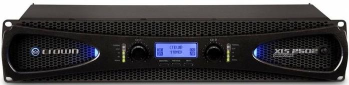 Crown XLS2502 DriveCore 2 усилитель c DSP. Мощность (на канал): 1200Вт•2?, 775Вт•4?, 440Вт•8?. Мощность (мост): 2400Вт•4?, 1550Вт•8?