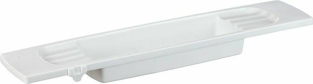 Полка на ванну Idea, с фиксаторами, 6,5 х 16 х 70 см