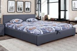 Кровать Vegas Бона 180x200, экокожа, п/м основания