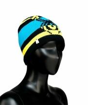 Шапка Spyder Youth Boy'S Mission Hat (one size, black/electric blue/acid, 2014-2015)