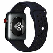 Ремешок Nike синий-черный Apple Watch Series 4/5 44mm