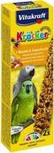 "Крекеры для амазонских попугаев Vitakraft ""Kracker"", миндаль, фрукты, 2 шт"