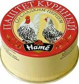 Hame Паштет куриный со сладким перцем, 117 г