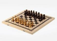 Игра два в одном (шахматы, шашки) (Орлов) В-6 Орловская ладья