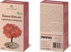 Киноа Оргтиум с ягодами и орехами, 180 г