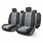 """Авточехлы Autoprofi """"TT"""", цвет: черный, серый, 9 предметов. TT-902V BK/D.GY"""