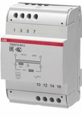 Трансформаторы понижающие, разделительные TS25/12-24C Трансформатор разделительный безопасности 220-24-12V AC 25VA ABB