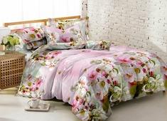Комплект постельного белья Amore Mio Fancy, 2-спальный, наволочки 70x70