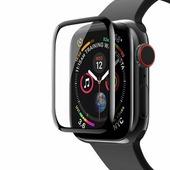 Ainy 5D защитное стекло для часов Apple Watch 40mm с полной проклейкой, Ainy, цвет чёрный