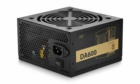 Блок питания 600W Deepcool DA-600 DP-BZ-DA600N (120mm, 24+8pin, 4x6/8pin, 3xMolex, 5xSATA, aPFC, 80+ Bronze)
