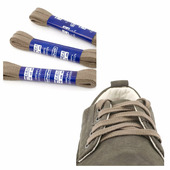 Шнурки Saphir (плоские, 8мм) (Цвет-14 Серый Размер-90 см)