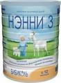 Нэнни 3 молочный напиток на основе козьего молока, с 12 месяцев, 800 г