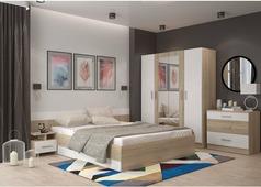 Спальня Уют-1 (сонома, белый)