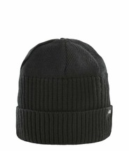 Шапка The North Face Knit Beanie Gaiter черный ONE