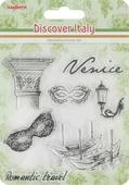 """Набор декоративных штампов ScrapBerry s """"Итальянские каникулы. Венеция"""", 7 шт. 7714703"""