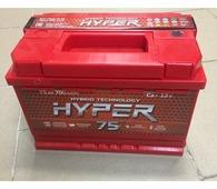 Аккумулятор для легковых автомобилей Hyper Аккумулятор 75 (A/h) 700A