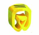 """Маркер закрытого профиля Partex PA-2 на провод 2.5-16.0 мм², символ """"W"""", желтый/черный (пачка 100 шт.) {PA-200..."""
