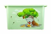 Ящик для игрушек Berossi Mommy Love, светло-зеленый