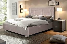 Кровать Vegas Астория 200x200, текстиль, п/м основания