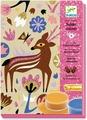 Djeco Набор для создания картины из цветного песка Лес страны чудес