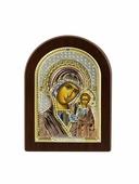 Икона АргентА Казанская Божья Матерь 12 х 16, серебристый
