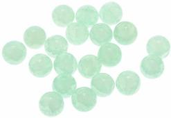 """Бусины Астра """"Нефритовое кракле"""", цвет: салатовый (5), диаметр 10 мм, 20 шт"""