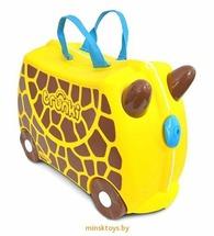Детский чемодан на колесиках 'Жираф Джери' Trunki 0265-GB01