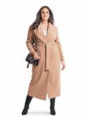 Электронная выкройка Burda - Пальто с шалевым воротником 6394