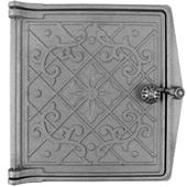 Дверка топочная ДТ-4, «Варвара» Рубцовское литье dt-4-vr