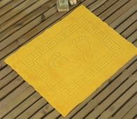 "Коврик для ванной Karna ""Likya"", цвет: желтый, 50 х 70 см"