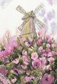 "Набор для вышивания крестом РTO ""Старая мельница"", 15,5 х 22 см"