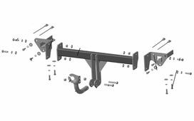 Фаркоп Трейлер для Subaru Forester 2018-