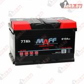 Автомобильный аккумулятор MAFF Premium (77 A/h), 810А R+