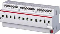 Интеллектуальные инсталляционные системы EIB/KNX SA/S 12.10.2.1 Бинарный выход 12-канальный, с ручным управлением, 10А, MDRC ABB