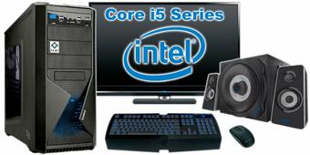 """Компьютер Игровой c монитором 24"""" Intel 88990"""