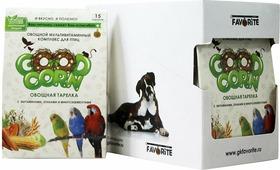 """GOOD CORN Овощной Мультивитаминный комплекс для птиц """"овощная тарелка"""" 15 таб. x 5 шт"""
