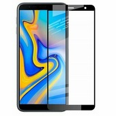 Противоударное защитное стекло Full Screen Cover 0.3mm черное Samsung J4 Plus (2018)
