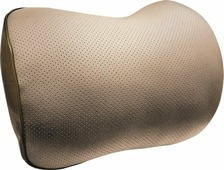 Автомобильная подушка Zipower, PM0478, бежевый, под поясницу
