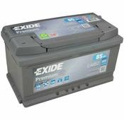 Аккумулятор для дизельных автомобилей Exide Premium EA852 (85 A/h), 800A R+
