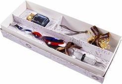 Подарочный набор для письма Русские Подарки: перьевая ручка + чернила + закладка, 38574