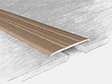 Порог алюминиевый, ламинированный 140617Н, дуб беленный 135 см