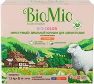 """Стиральный порошок """"BioMio"""", для цветного белья, с экстрактом хлопка, 1,5 кг"""