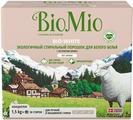 """Экологичный стиральный порошок """"BioMio"""", для белого белья, с экстрактом хлопка, 1,5 кг"""