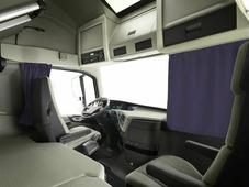 Комплект автоштор Эскар Blackout - auto LK, фиолетовый, 2 шторы 240 х 100 см, 2 подхвата, гибкий карниз 5 м