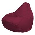 Кресло-мешок FLAGMAN Груша Мега бордовый (Г3.1-16)