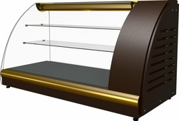 Холодильная витрина ПОЛЮСA57 VM 1.2-1 (ВХС-1.2) browngold